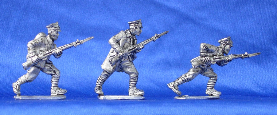 Polish infantry (set №6), 28 mm