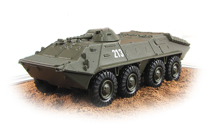 BTR-70 - Soviet armored personnel carrier; 1/72