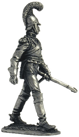 Private of the Carabineer regiment, 1812. France.