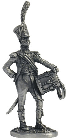 Light Infantry. Drummer of the Carabineer regiment. France. 1809-1814.