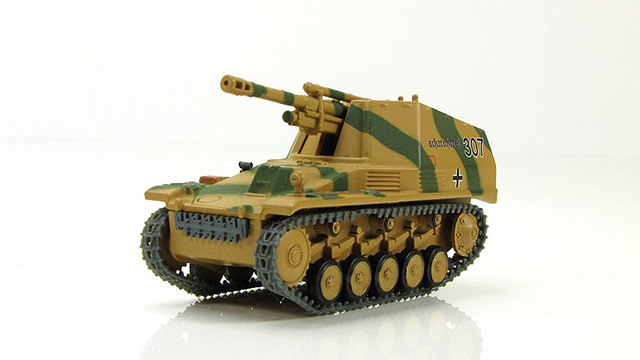 Sd.Kfz. 124 Wespe - German self-propelled gun; 1/72