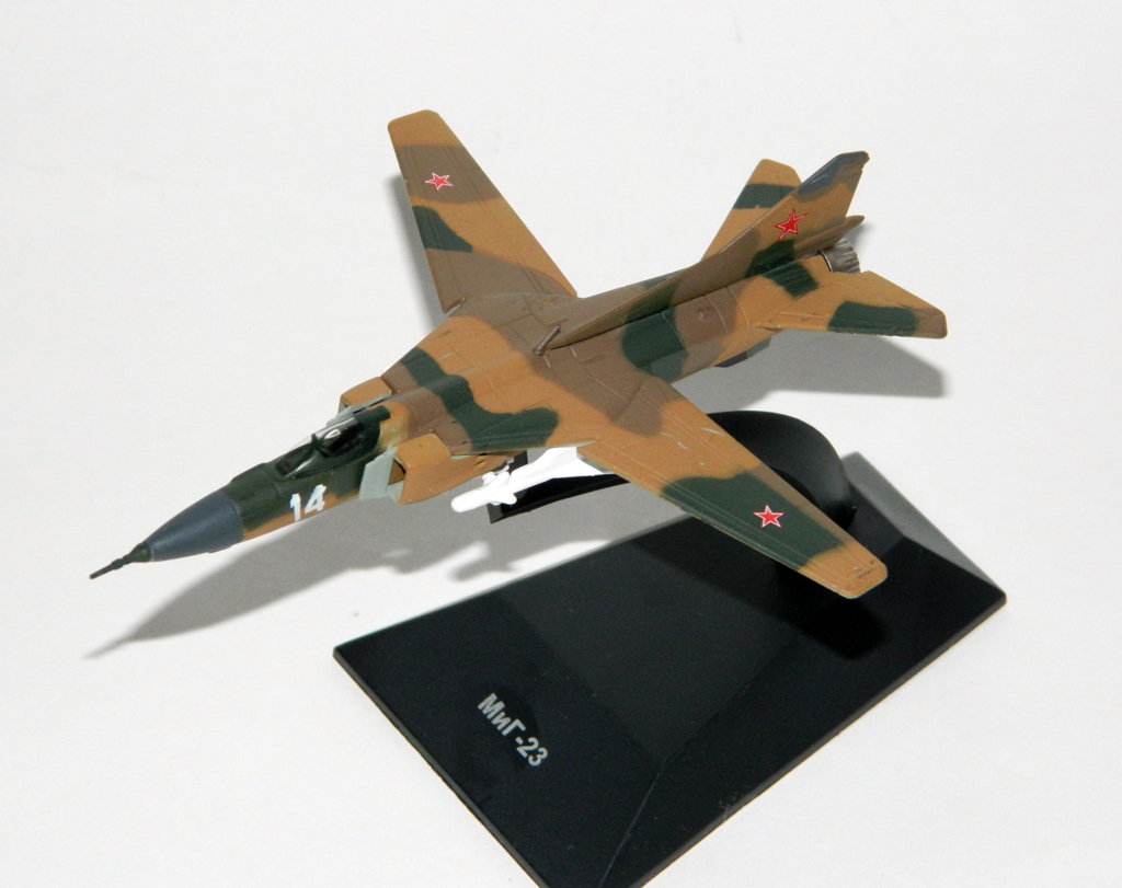 MiG-23 - Soviet variable-geometry fighter aircraft; 1/151