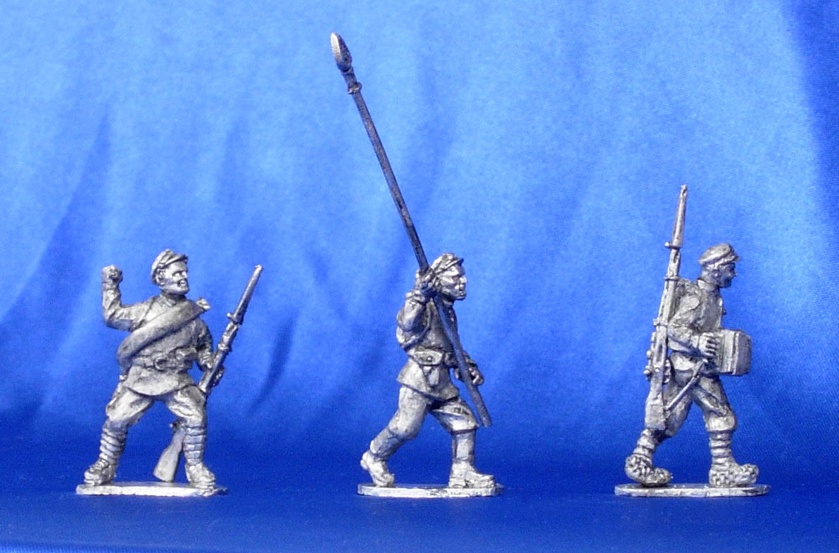 Infantry of the Red Army, 1917-1922 (№2); 28 mm