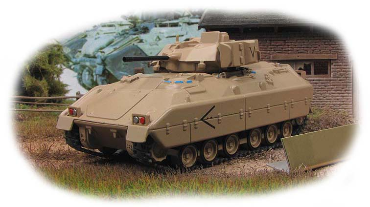 M2 Bradley - US infantry fighting vehicle; 1/72