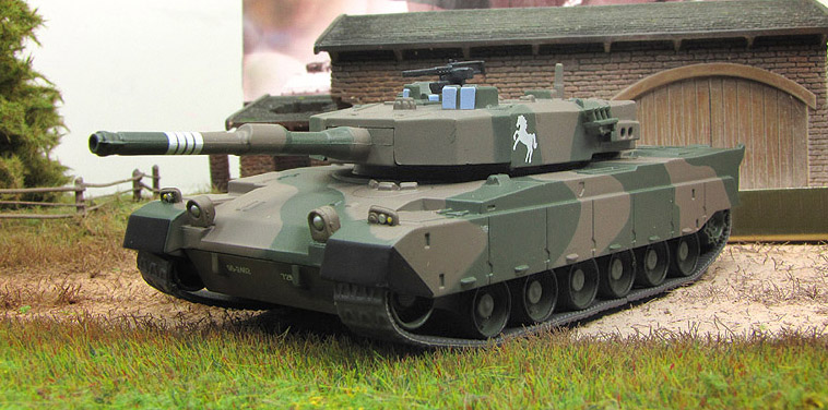 Type 90 Kyū-maru - main battle tank of the Japan; 1/72