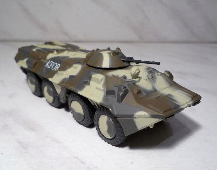 BTR-80 - Soviet armoured personnel carrier; 1/72