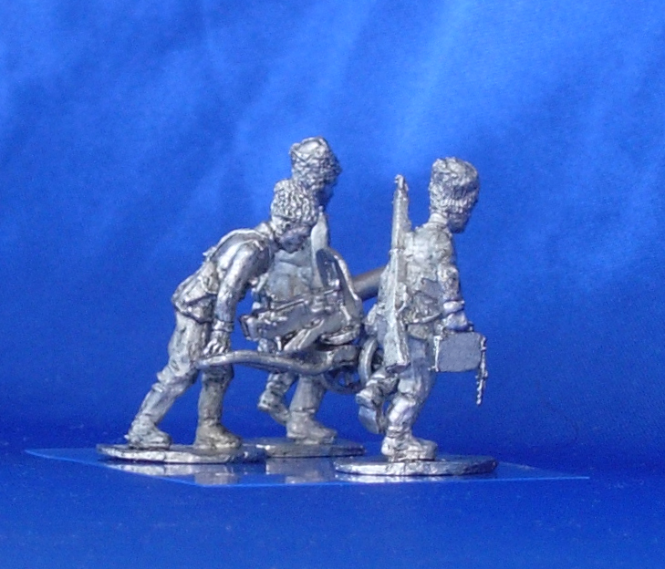 Caucasian Cossack troops machine gun (№2); 28 mm