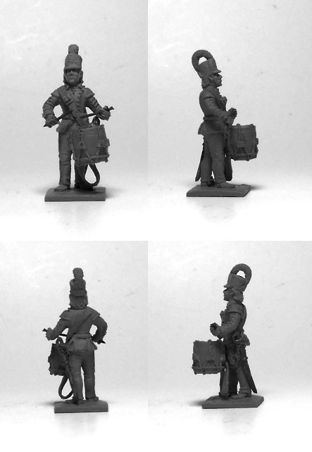 Polish infantry drummer 1791-1795; 1/72