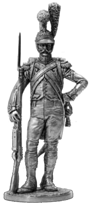 Private company of guard engineers. France, 1811-15; 54 mm