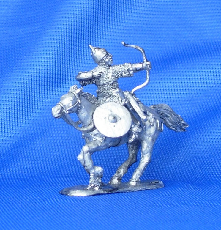 Russian warrior, XIII century; 28 mm