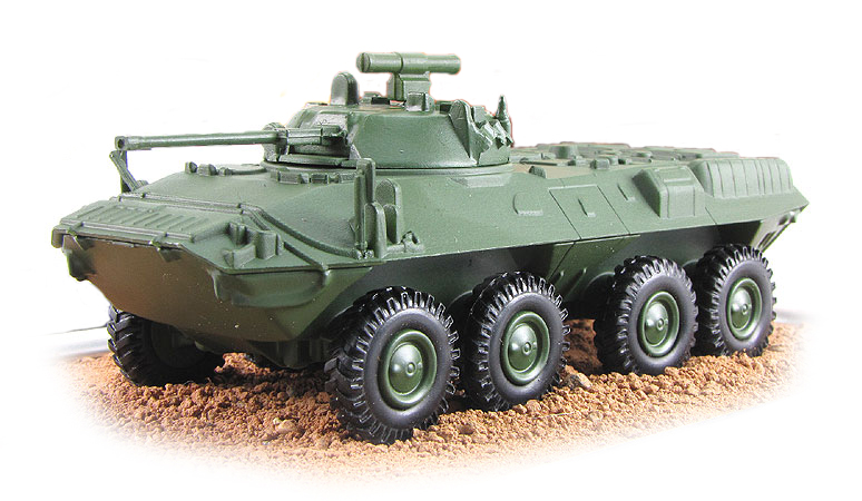 BTR-90 - Russian armoured personnel carrier; 1/72