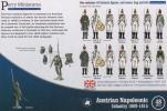 Austrian Infantry 1809 - 1815; 28 mm
