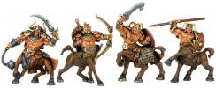 CENTAURS set plastic Toy Soldiers Fantasy, 4 figures; 1/32 (54 мм)