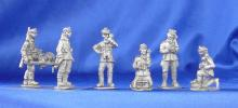 Polish telephone operators / artillery spotters; 28 mm