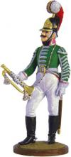 Trumpet-major of the Dragoon Regiment. Russia, 1803-06