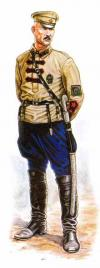 Commander Engineer Brigade of the Red Army. 1920; 54 mm