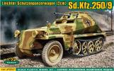 Sd.Kfz.250/9 (Alt) - German light armored vehicle, 1/72