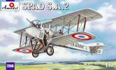 SPAD S.A.2 - French fighter-reconnaissance biplane; 1/72
