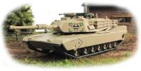 ABRAMS M1 - U.S. main battle tank; 1/72