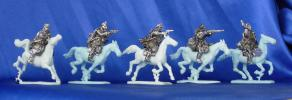Polish cavalrymen №2, 28 mm
