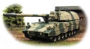 Panzerhaubitze 2000 - German 155 mm self-propelled howitzer; 1/72