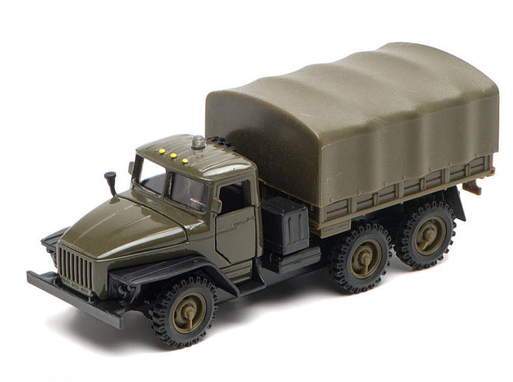 URAL-4320 Russian military truck, 1/56